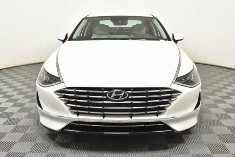 2021 Hyundai Sonata Hybrid for sale at Southern Auto Solutions-Jim Ellis Hyundai in Marietta GA