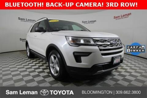 2018 Ford Explorer for sale at Sam Leman Toyota Bloomington in Bloomington IL