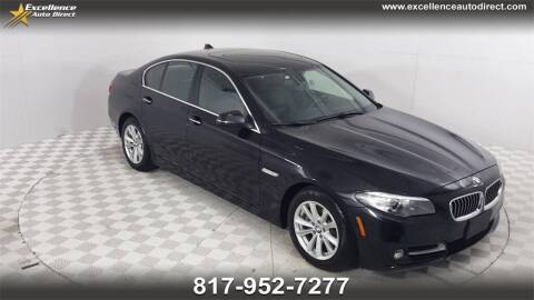 2016 BMW 5 Series for sale at Excellence Auto Direct in Euless TX
