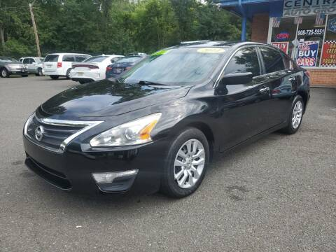 2014 Nissan Altima for sale at CENTRAL GROUP in Raritan NJ