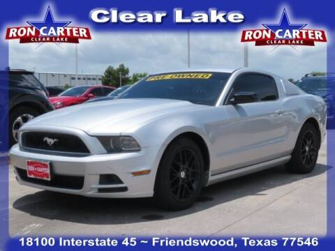 2014 Ford Mustang for sale at Ron Carter  Clear Lake Used Cars in Houston TX