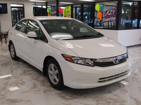 2012 Honda Civic for sale at Dealer One Auto Credit in Oklahoma City OK