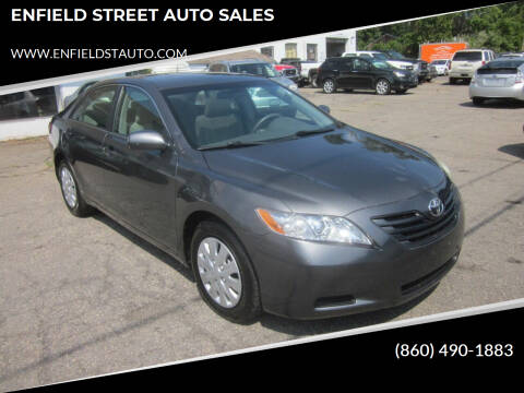 2007 Toyota Camry for sale at ENFIELD STREET AUTO SALES in Enfield CT