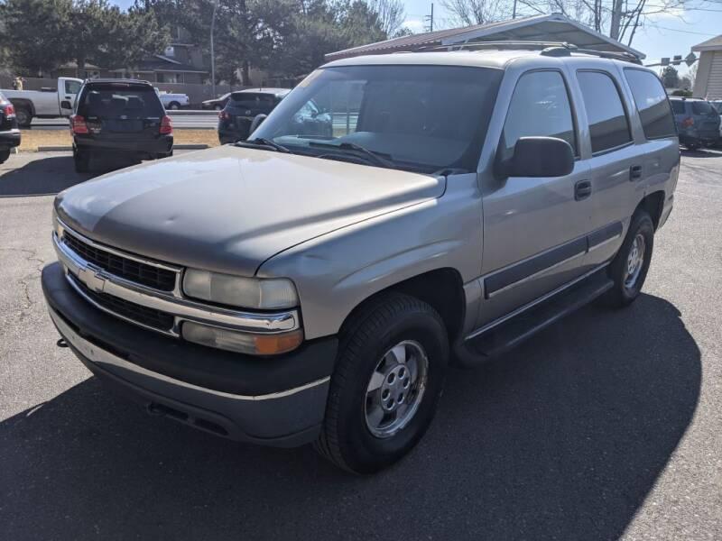 2002 Chevrolet Tahoe for sale at Progressive Auto Sales in Twin Falls ID