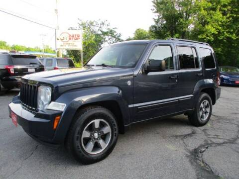 2008 Jeep Liberty for sale at AUTO STOP INC. in Pelham NH