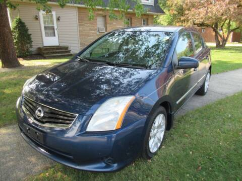 2012 Nissan Sentra for sale at Lake County Auto Sales in Painesville OH