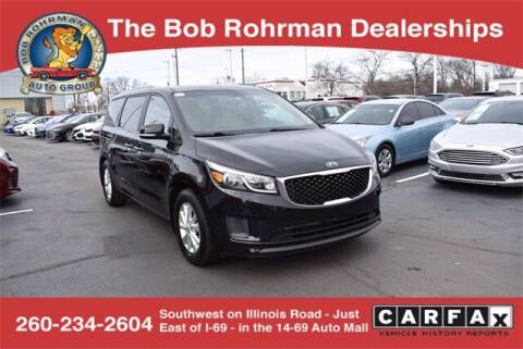 2016 Kia Sedona for sale at BOB ROHRMAN FORT WAYNE TOYOTA in Fort Wayne IN