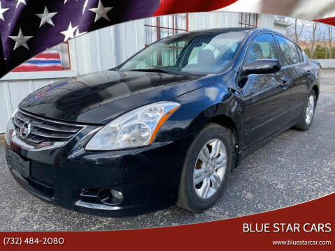 2012 Nissan Altima for sale at Blue Star Cars in Jamesburg NJ