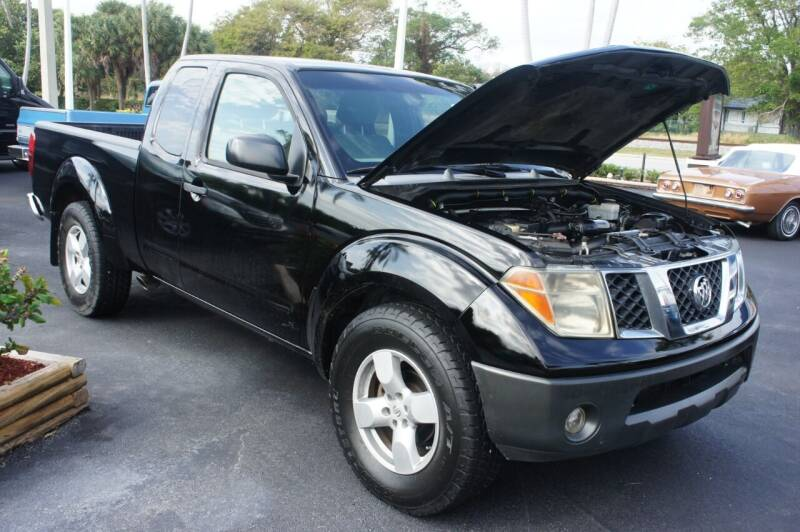 2006 Nissan Frontier for sale at Dream Machines USA in Lantana FL