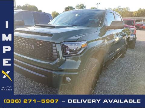 2020 Toyota Tundra for sale at Impex Auto Sales in Greensboro NC