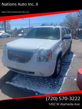 2007 GMC Yukon XL for sale at Nations Auto Inc. II in Denver CO