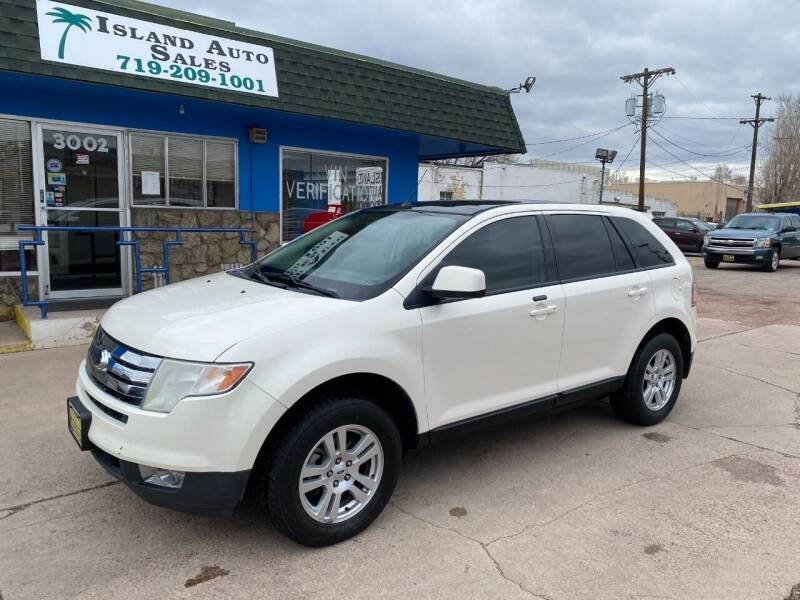2008 Ford Edge for sale at Island Auto Sales in Colorado Springs CO