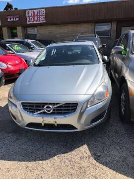 2013 Volvo S60 for sale at NORTH CHICAGO MOTORS INC in North Chicago IL