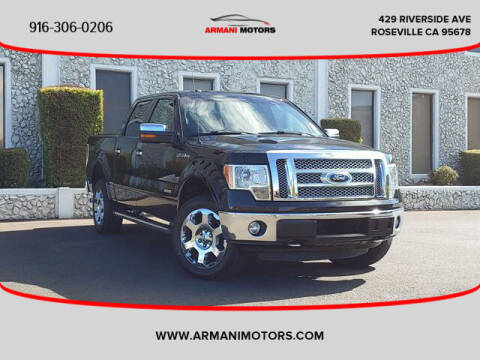 2012 Ford F-150 for sale at Armani Motors in Roseville CA