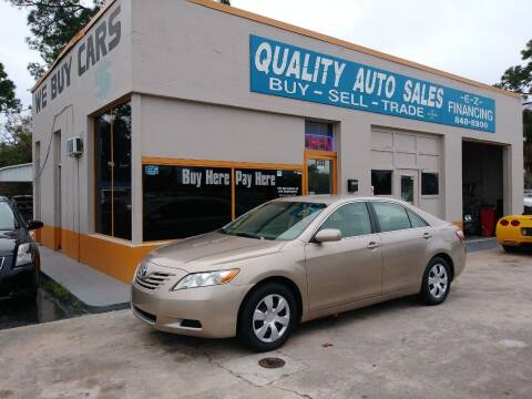 2007 Toyota Camry for sale at QUALITY AUTO SALES OF FLORIDA in New Port Richey FL
