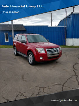 2010 Mercury Mariner for sale at Auto Financial Group LLC in Flat Rock MI