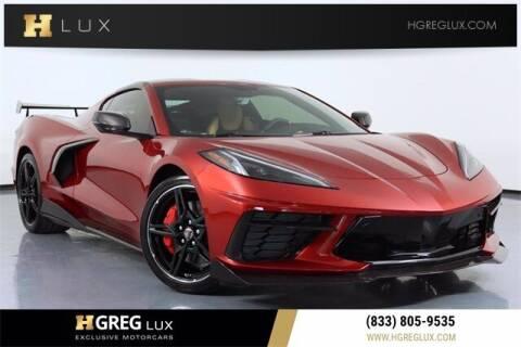 2021 Chevrolet Corvette for sale at HGREG LUX EXCLUSIVE MOTORCARS in Pompano Beach FL