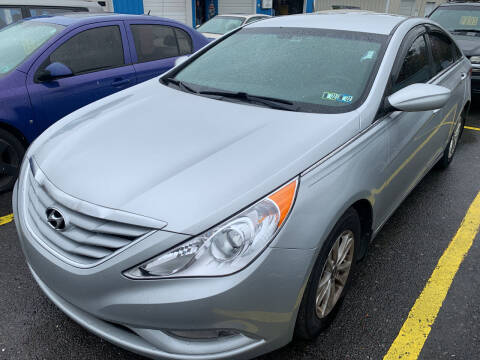 2013 Hyundai Sonata for sale at BURNWORTH AUTO INC in Windber PA