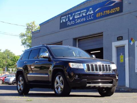 2011 Jeep Grand Cherokee for sale at Rivera Auto Sales LLC in Saint Paul MN