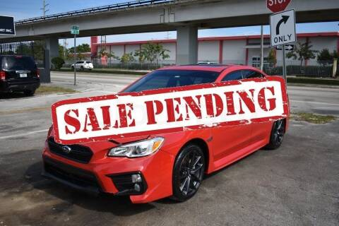 2018 Subaru WRX for sale at STS Automotive - Miami, FL in Miami FL
