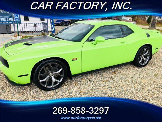 2015 Dodge Challenger for sale at Car Factory Inc. in Three Rivers MI