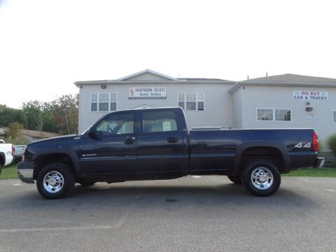 2005 Chevrolet Silverado 2500HD for sale at SOUTHERN SELECT AUTO SALES in Medina OH