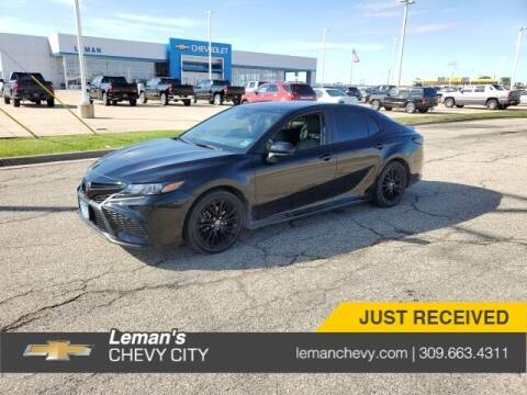 2021 Toyota Camry for sale at Leman's Chevy City in Bloomington IL