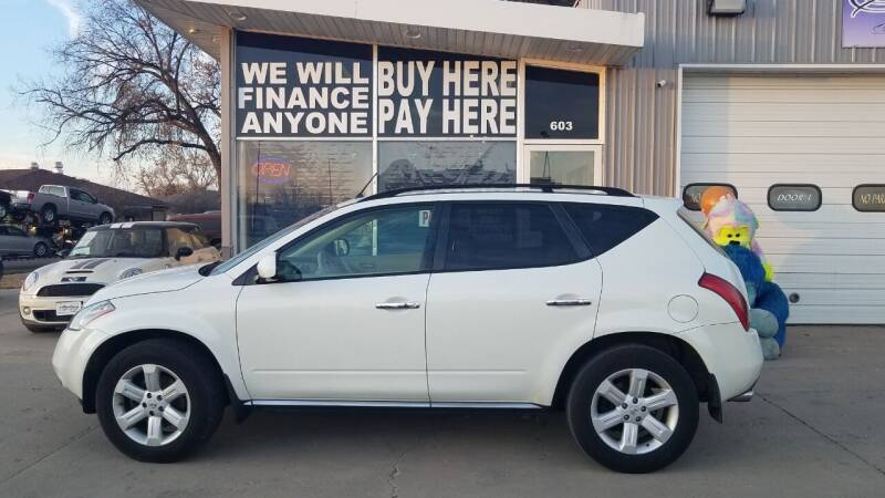 2007 Nissan Murano for sale at STERLING MOTORS in Watertown SD