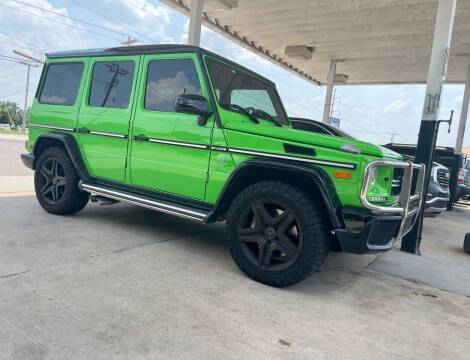 2017 Mercedes-Benz G-Class for sale at Shelby's Automotive in Oklahoma City OK