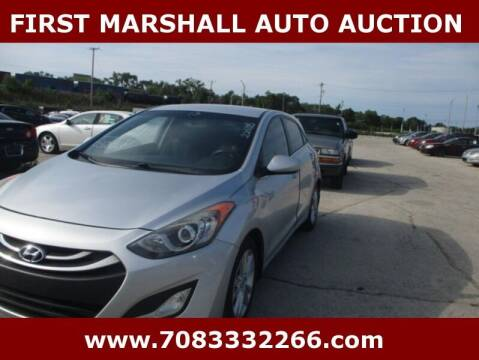 2013 Hyundai Elantra GT for sale at First Marshall Auto Auction in Harvey IL