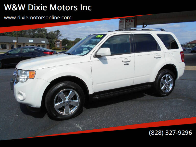 2010 Ford Escape for sale at W&W Dixie Motors Inc in Hickory NC