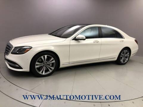 2020 Mercedes-Benz S-Class for sale at J & M Automotive in Naugatuck CT