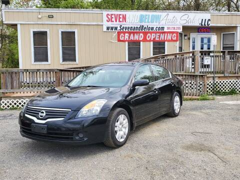 2009 Nissan Altima for sale at Seven and Below Auto Sales, LLC in Rockville MD