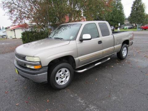 2002 Chevrolet Silverado 1500 for sale at Triple C Auto Brokers in Washougal WA