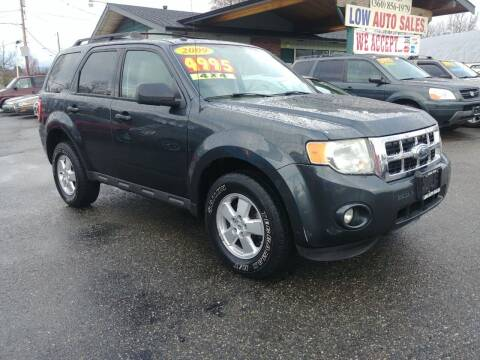 2009 Ford Escape for sale at Low Auto Sales in Sedro Woolley WA