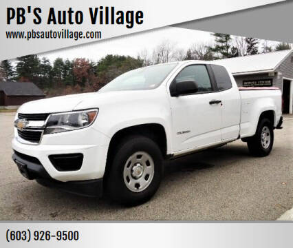2016 Chevrolet Colorado for sale at PB'S Auto Village in Hampton Falls NH