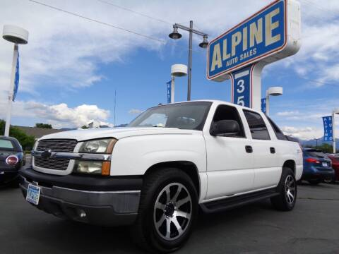 2003 Chevrolet Avalanche for sale at Alpine Auto Sales in Salt Lake City UT