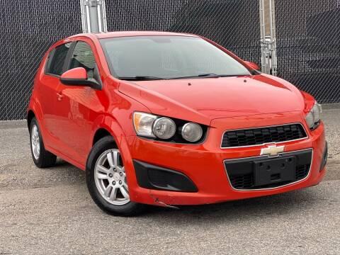 2012 Chevrolet Sonic for sale at Illinois Auto Sales in Paterson NJ