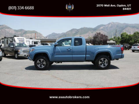 2019 Toyota Tacoma for sale at S S Auto Brokers in Ogden UT