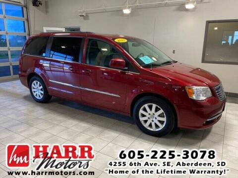 2013 Chrysler Town and Country for sale at Harr Motors Bargain Center in Aberdeen SD