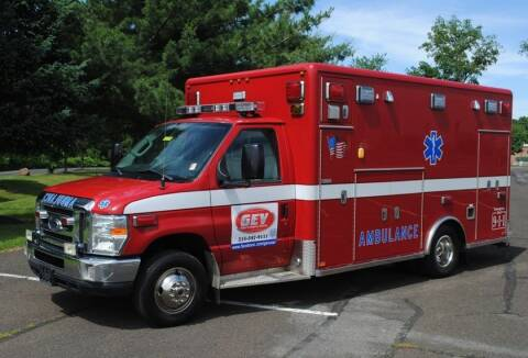 2013 Ford Horton Type III Ambulance E-450 for sale at Global Emergency Vehicles Inc in Levittown PA