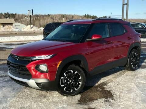 2021 Chevrolet TrailBlazer for sale at STATELINE CHEVROLET BUICK GMC in Iron River MI