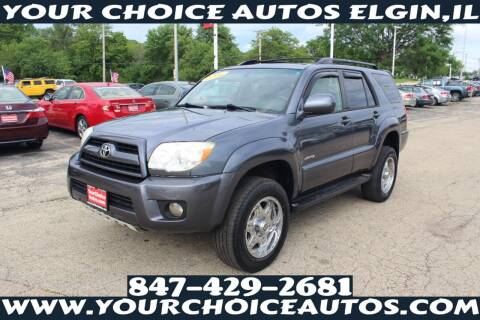 2006 Toyota 4Runner for sale at Your Choice Autos - Elgin in Elgin IL