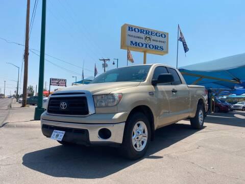 2010 Toyota Tundra for sale at Borrego Motors in El Paso TX