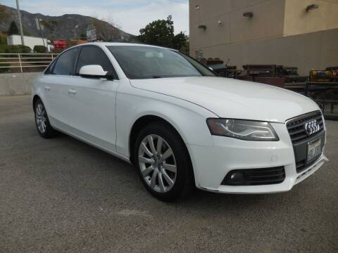 2010 Audi A4 for sale at ARAX AUTO SALES in Tujunga CA