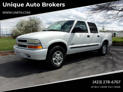 2003 Chevrolet S-10 for sale at Unique Auto Brokers in Kingsport TN