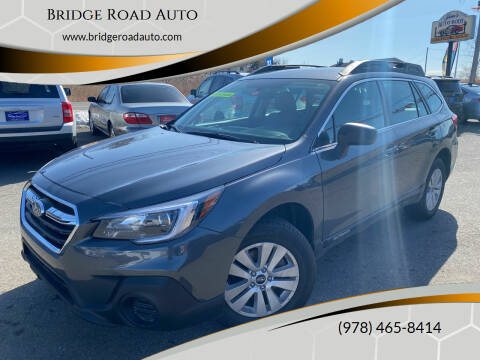 2018 Subaru Outback for sale at Bridge Road Auto in Salisbury MA