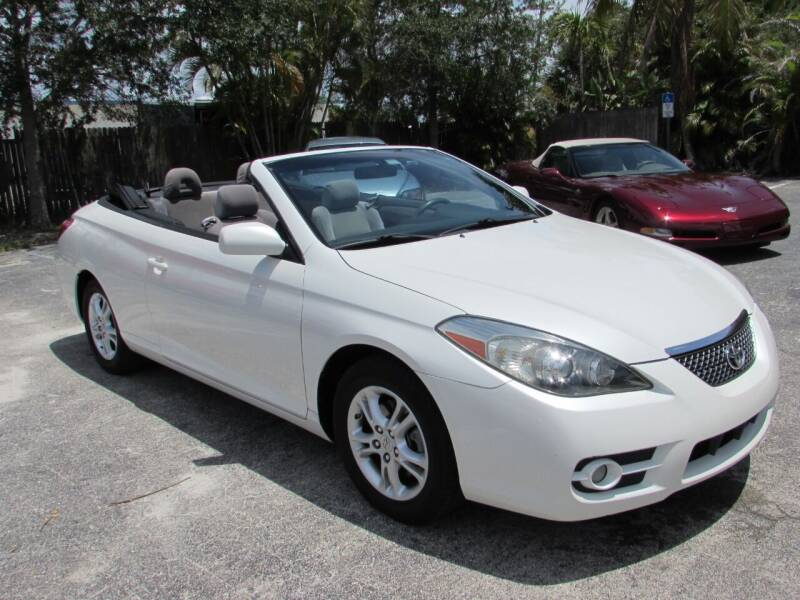 2007 Toyota Camry Solara for sale at Auto Quest USA INC in Fort Myers Beach FL