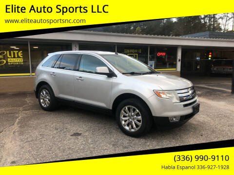 2009 Ford Edge for sale at Elite Auto Sports LLC in Wilkesboro NC