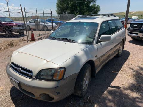 2002 Subaru Outback for sale at PYRAMID MOTORS - Pueblo Lot in Pueblo CO